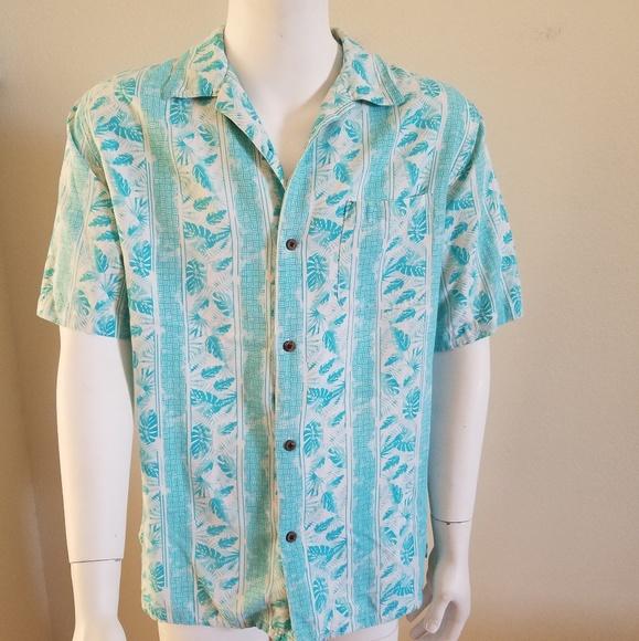 530384dc Island Republic Other - XL Island Republic Hawaii S/S Shirt 55% Silk